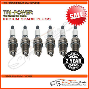 Iridium Spark Plugs for VOLKSWAGEN Bora 1J 4Motion 150kw 2.8L - TPX013