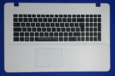TopCase mit DE Tastatur Asus X751 X751LA X751LD X751LX X751LJ X751LK - Weiss -