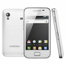 New Samsung Galaxy Ace WHITE Android 3G Sim Free Unlocked Mobile Phone S5830i