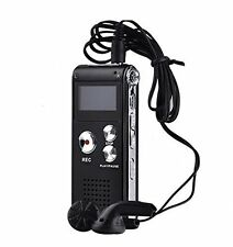 Digital Audio/Sound/Voice Recorder Rechargeable 8GB 650H Dictaphone MP3 Player V