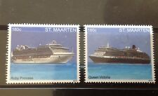 Sint Maarten - Postfris / MNH - Complete set Cruiseships II 2013