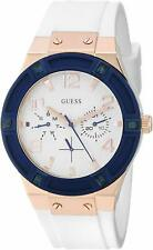 Guess U0564L1 White Silicone Strap Women's Watch