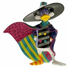 Disney Britto Dark Wing Duck Collectors Figurine - Boxed Enesco Colourful Retro