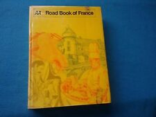 EXCELLENT - The AA ROAD BOOK OF FRANCE - AA 1969 LETTS