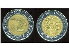MEXIQUE 2 pesos  1996