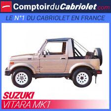Bikini pour 4x4 Suzuki Vitara MK1 cabriolet en Vinyle de couleur noir