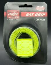 RAWLINGS BAT GRIP  Neon Yellow 1.00 mm Baseball or Softball Bat