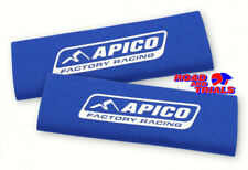 New Apico Neoprene Fork Guard Covers Protectors Blue Trials Sherco