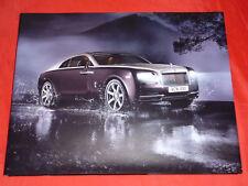 ROLLS-ROYCE Wraith Brand Book Hardcover Prospekt Brochure von 2013