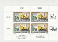 Austria 1998 Celeb. 150 Years of Stamps Mint Never Hinged Stamps Sheet Ref 24780