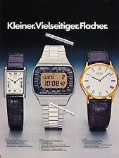 Seiko-Quartz-FC001-1977-Reklame-Werbung-genuine Advertising - nl-Versandhandel