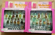 Gloria 2 Wine Rack Cabinet A & B Bottles Liquor Play Set Doll House Furniture