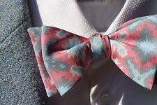Bow Tie Club Red, White, Blue, & Black Explosions Self-Tie Silk Bow Tie - USA