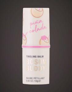 *New* Pure Romance Bosom Buddy Pina Colada Flavor Tingling Lip and Nipple Balm