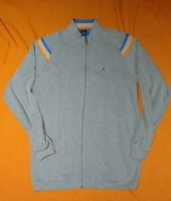 Men's Nike Air Jordan Jumpman Gray Full Zip Sweat Suit Jacket Size 3XL