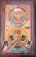 UPPER DECK 1991 92 BASKETBALL INAUGURAL SEALED BOX (36 PACKS) JORDAN? MORE RARE!
