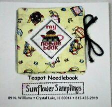 Teapot Needlebook from Sunflower Samplings