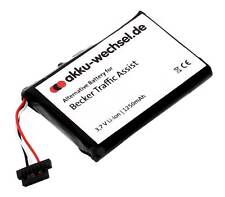 Bateria para Becker Traffic Assist ta z100 z101 z103 z107 z108 z109 z113 z099 z200 Z