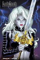 "Lady Death Damnation Game ""CHAOS""   PGX 10.0 GRADED & SLABBED Ltd. 150 Comic"