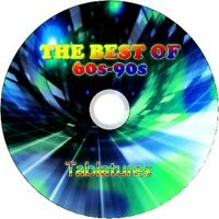 60's 70's 80's 90's BASS & GUITAR TAB TABLATURE CD BEST OF GREATEST HITS ROCK