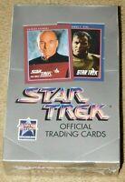 1991 IMPEL STAR TREK OFFICIAL TRADING CARDS UNOPENED SEALED BOX - 36 Packs