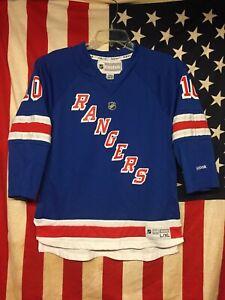 NHL New York Rangers Marian Gaborik Reebok Jersey Size L/XL