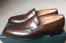 Crockett & Jones Sydney Penny Mocasines, marrón, UK Size 8,5D, US 9, EUR 42,5D