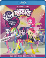 MY LITTLE PONY EQUESTRIA GIRLS - RAINBOW ROCKS (BLU-RAY + DVD) (BLU-RA (BLU-RAY)