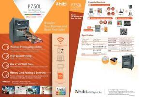 HiTi P750L Compact Dye Sub Photo Printer - Photo booth - Event Photography