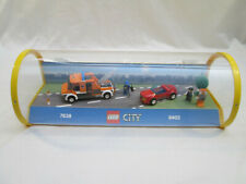 Lego Store Display - City Traffic 7638 8402 Tow Truck Red Sports Car Retail Case