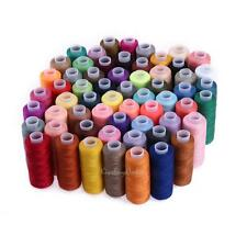60 Colours 250 Yard Polyester Embroidery Hand Stitching Machine Sewing Threads