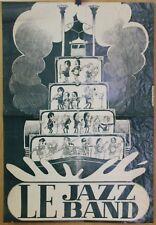 Grande Affiche Originale 1975 ✤ LE JAZZ BAND