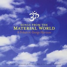 SONGS FROM THE MATERIAL WORD - Tribute to George Harrison - CD 12 titres - 2003.