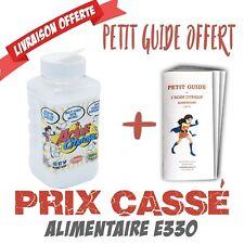 Acide Citrique 900g Qualité alimentaire E330 + guide d'utilisation