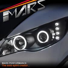 Black High Power LED Angel Eyes Projector Head Lights for CIVIC FD 06-12 Sedan