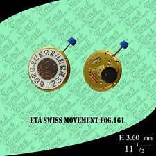 eta swiss movement  F06.161 unbranded gold 100% new