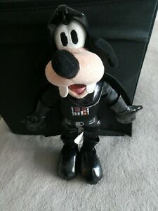 2012 Disney Parks Goofy Darth Vader Star Wars Plush 10""