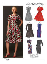 VOGUE SEWING PATTERN 9267 MISSES SZ 14-22 EASY CUSTOM SIZED FIT & FLARE DRESSES