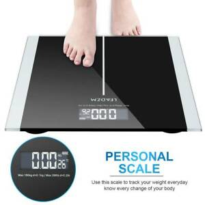 180KG Body Weight Scale Digital Measure Health Home Weighing Scales UK STOCK