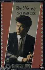 PAUL YOUNG - NO PARLEZ 1988 REISSUE UK CASSETTE CBS – 460909 4 LAURIE LATHAM