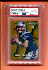 2014 PANINI PRIZM GOLD REFRACTOR JIMMY GAROPPOLO RC ROOKIE 10 MADE PSA 10 POP 1