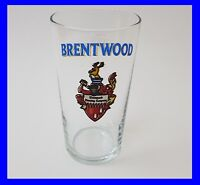 ~~VINTAGE RARE BRENTWOOD BREWERY BEER GLASS