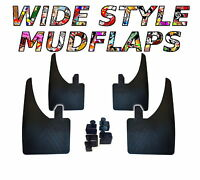 4 X NEW QUALITY WIDE MUDFLAPS TO FIT  Mini Mini UNIVERSAL FIT