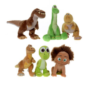 Disney The Good Dinosaur Super Plush Soft Toys Arlo Butch Spot Buck Licensed UK