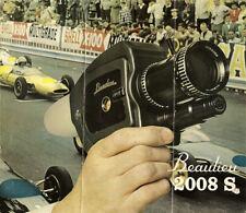 Beaulieu 2008 S - Super 8 - Film Camera - Instruction Manual - PDF File