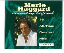 Merle Haggard : All Time Greatest Hits CD