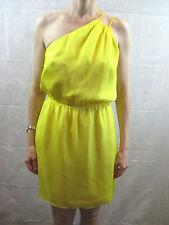 Halston Herritage Size 4 8 Yellow Cocktail Designer Dress