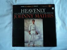 JOHNNY MATHIS - Heavenly ~ VINYL LP ~ US columbia CS 8152 ~ EX / VG