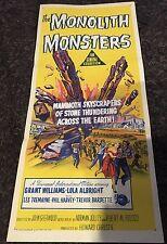 MONOLITH MONSTERS Aust daybill '57 cool sci-fi art