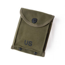 Repro The Korean War US Army 30RD M1 CARBINE Army Green Canvas Magazine Pouch